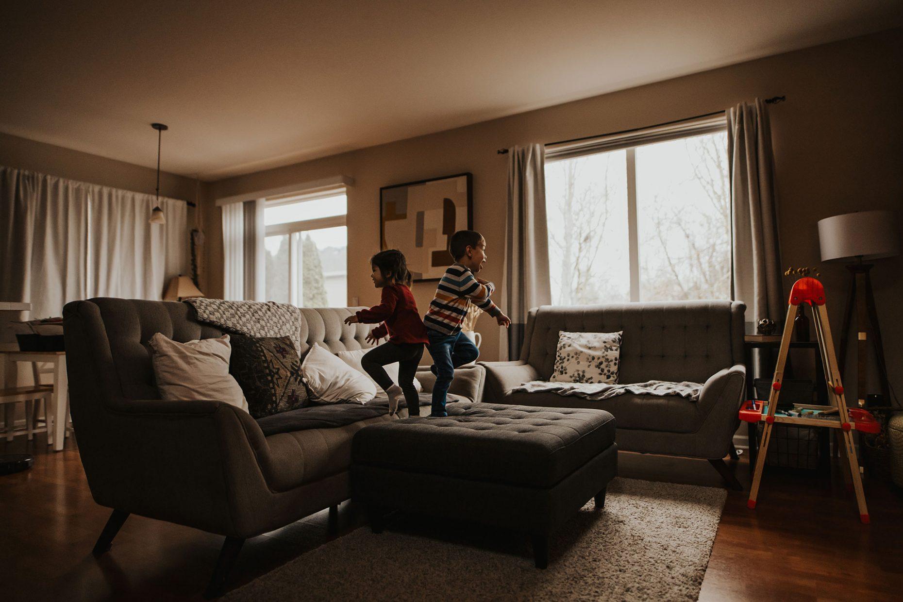 lifestyle family photos in Portland