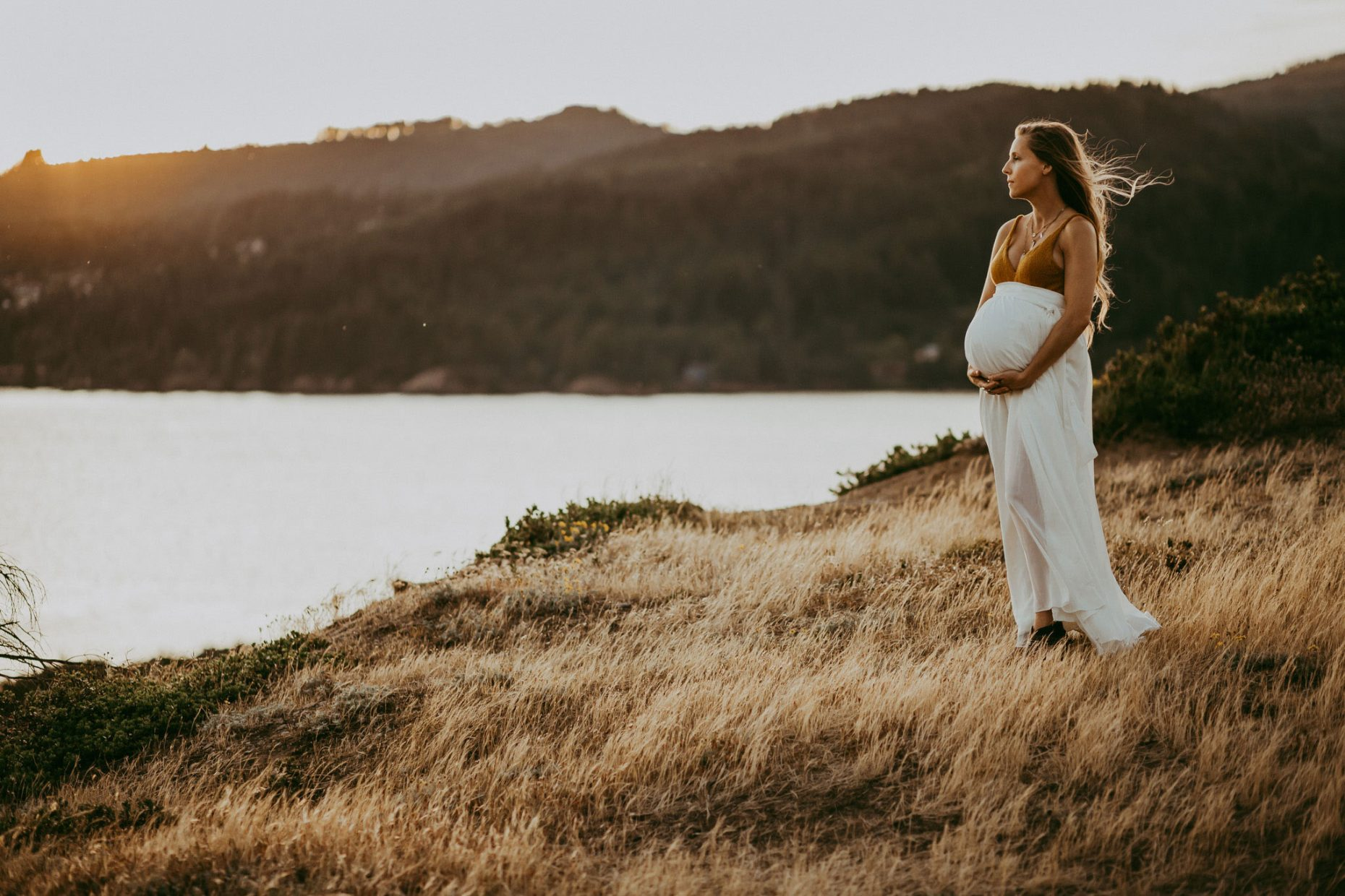 maternity photo session in pdx