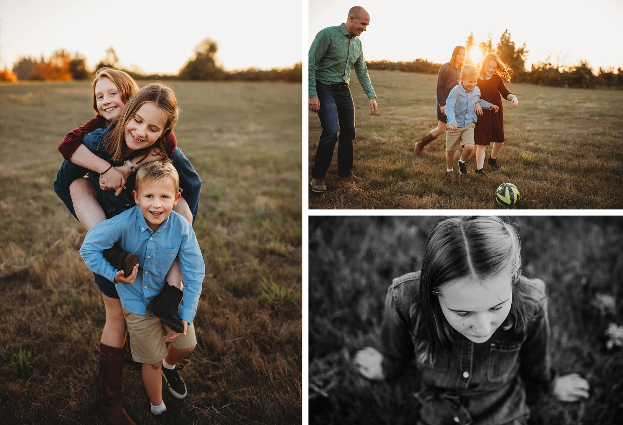 Portland Outdoor Family Photography