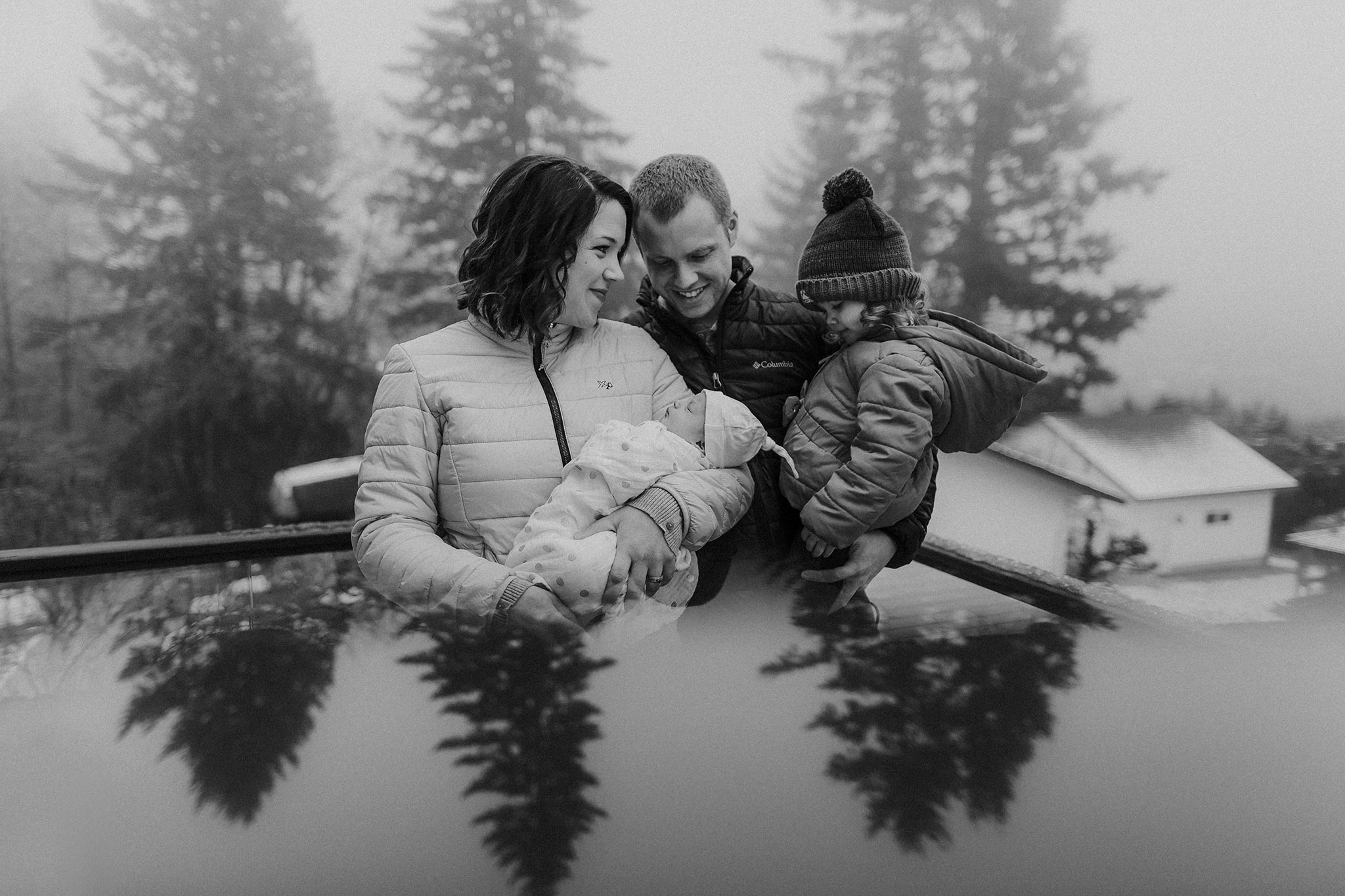 Newborn Lifestyle Photography Portland Oregon | Becca Jean Photography
