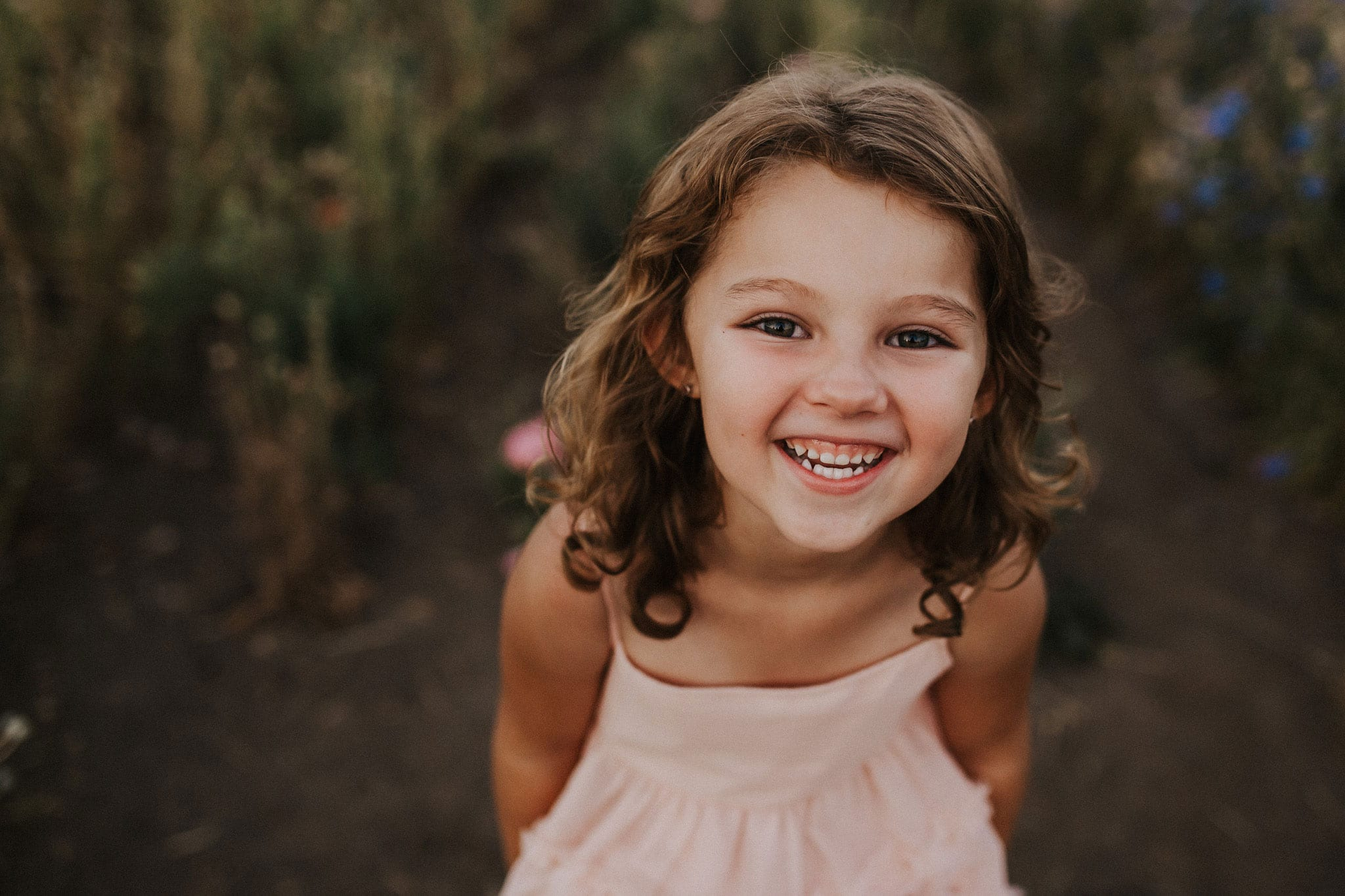 adorable laughing girl | best portland oregon family photographers