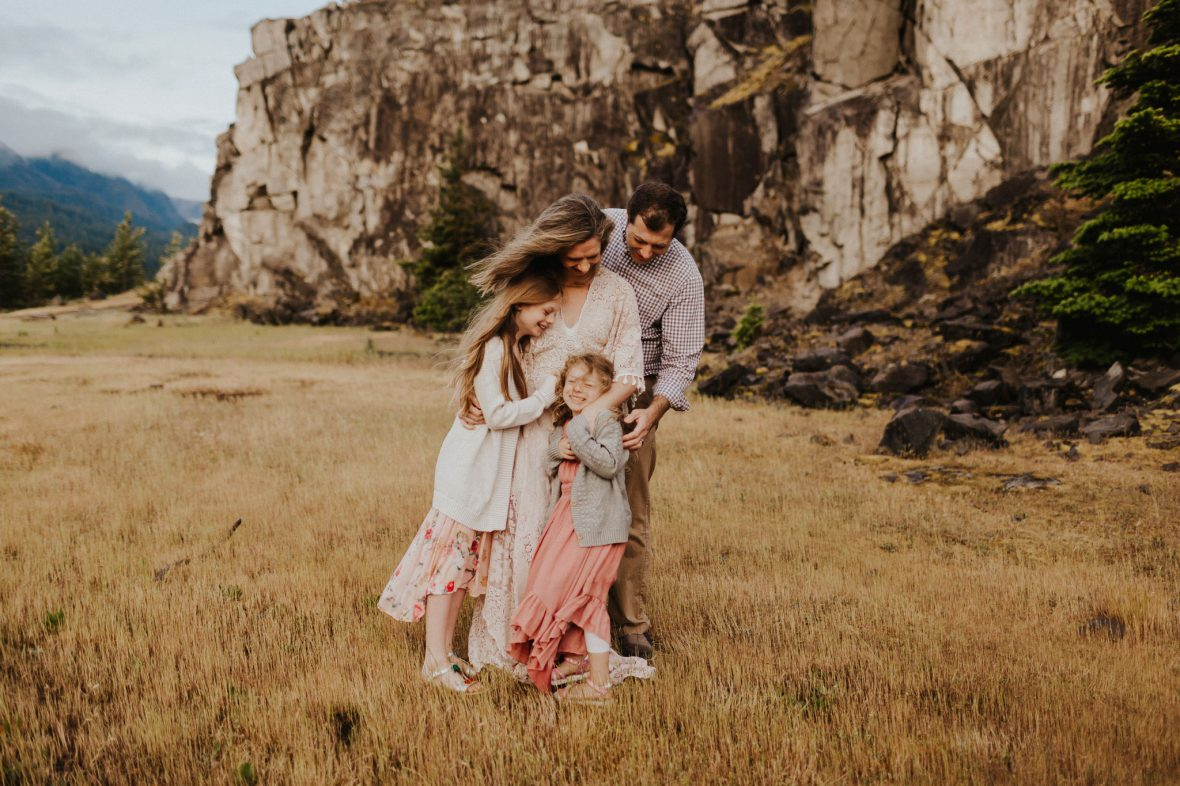 Family photography in The Columbia River Gorge