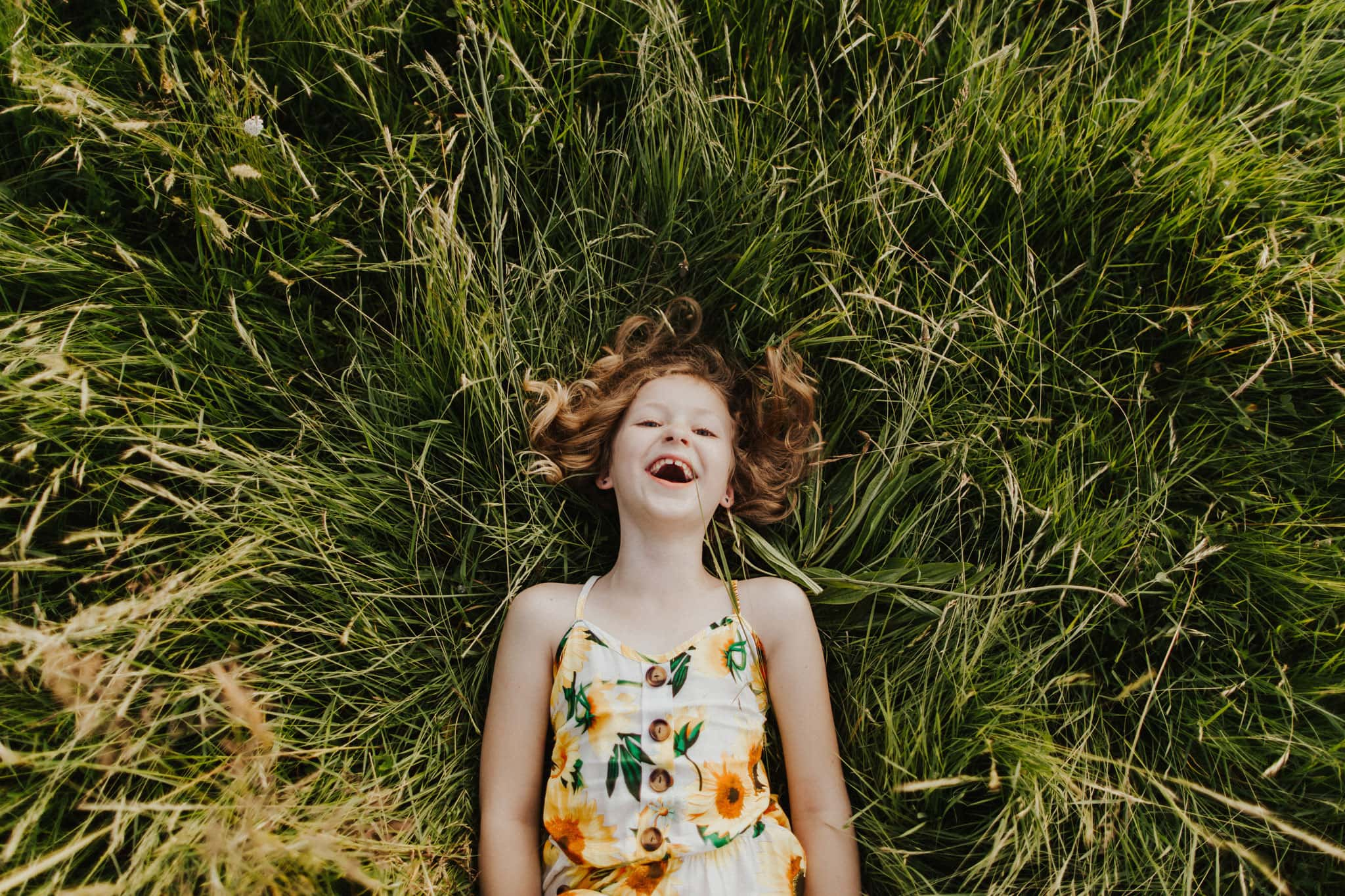 laughing child | portland family photographer