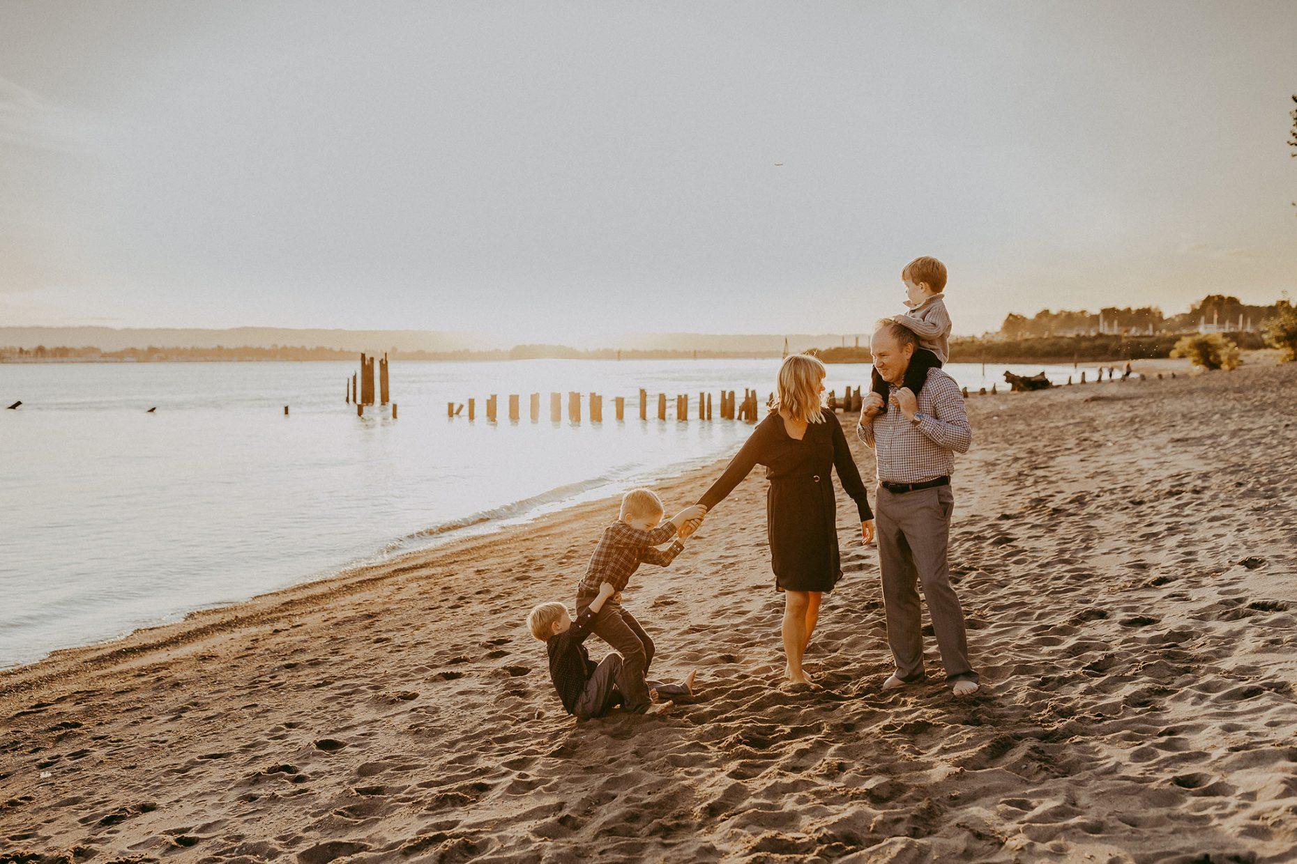 portland summer family photos