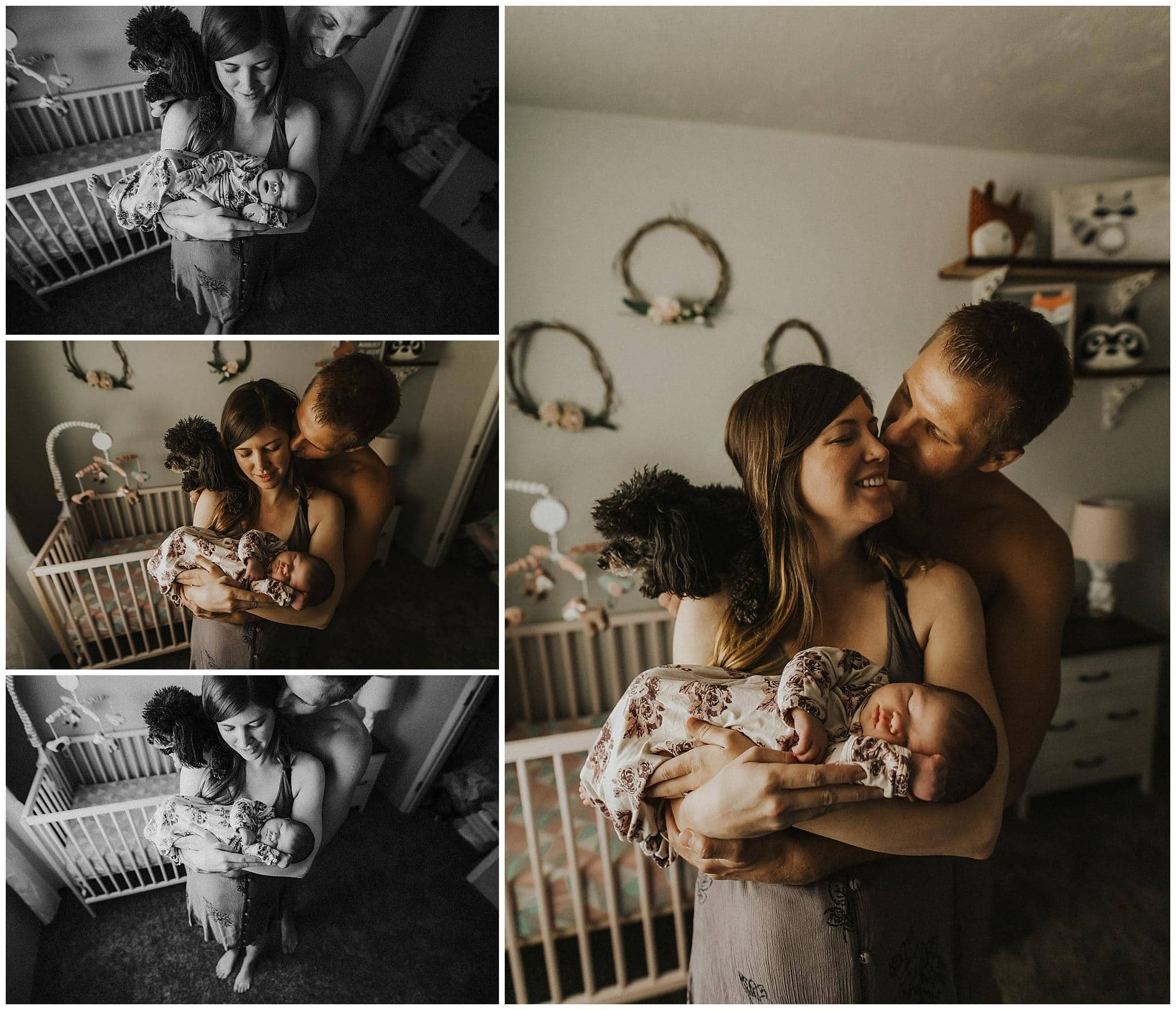 pdx newborn in-home photographer
