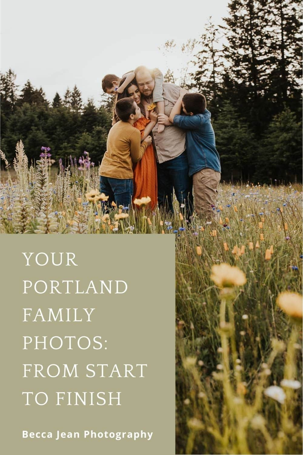 Your portland family photos from start to finish