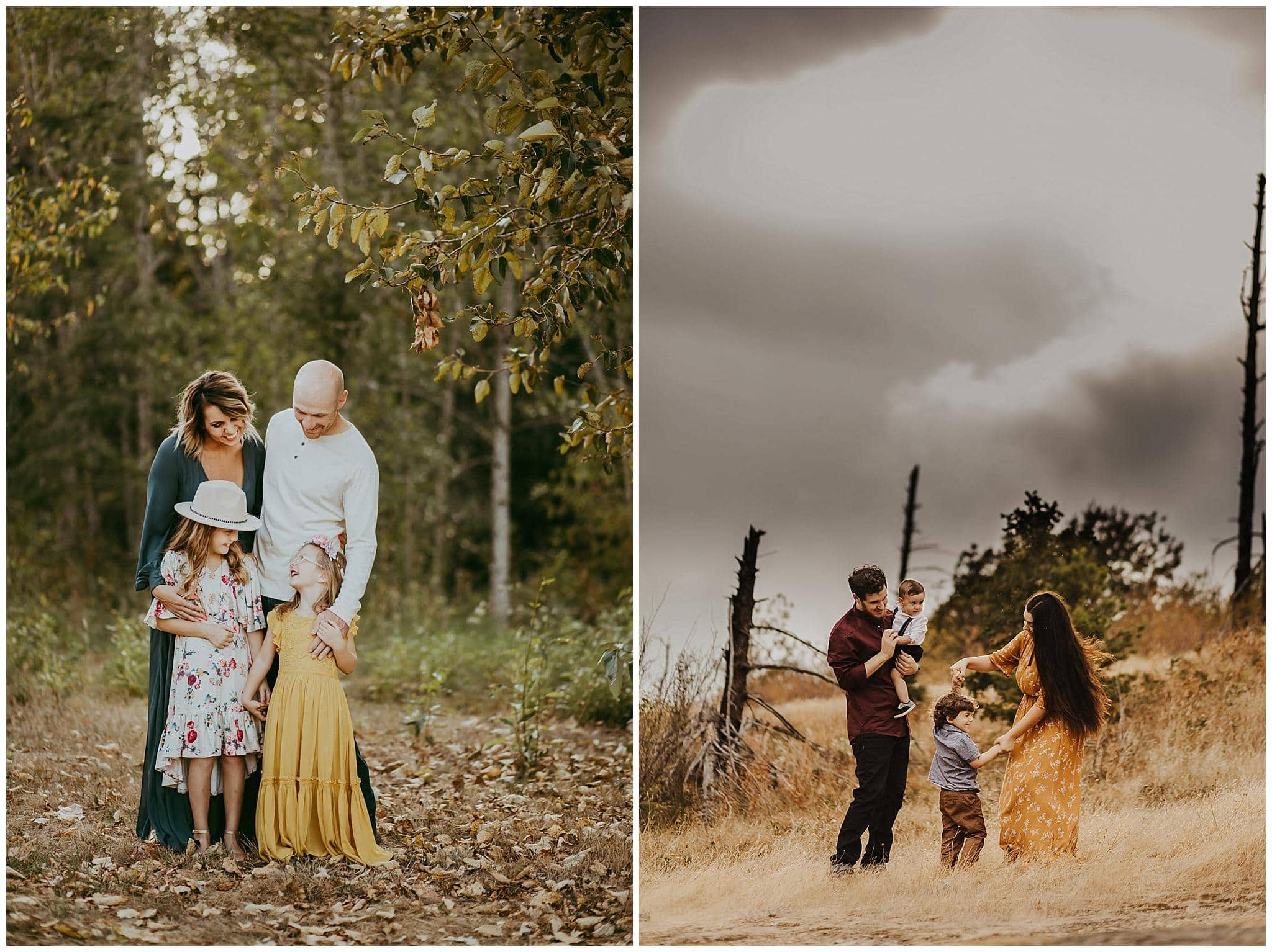 Family photos in Portland Oregon - what to wear