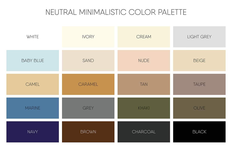 neutral earth tones diagram