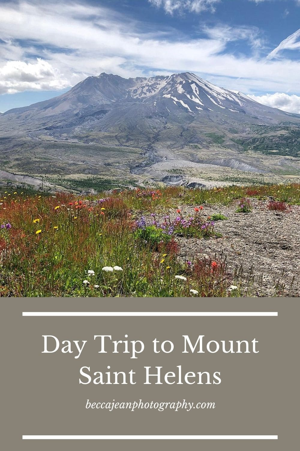 Day trip to mt st helens in washington state