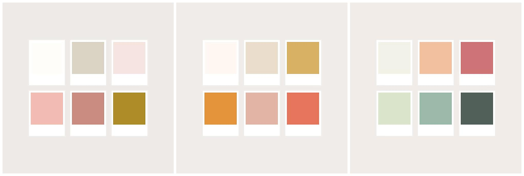 color schemes for family photography