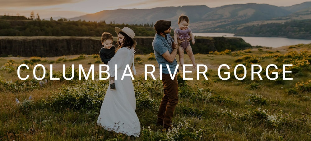 Family and couples photographer in the columbia river gorge