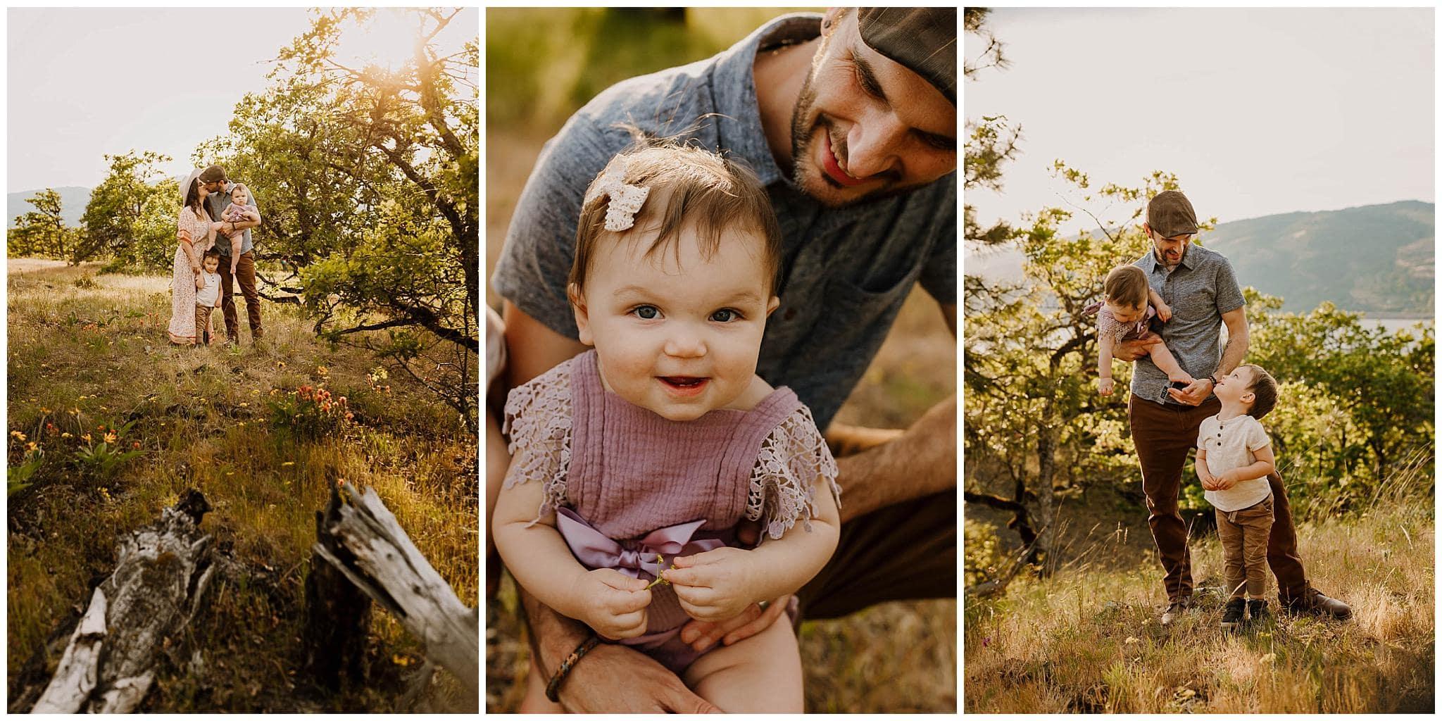 Spring photos in mosier, oregon