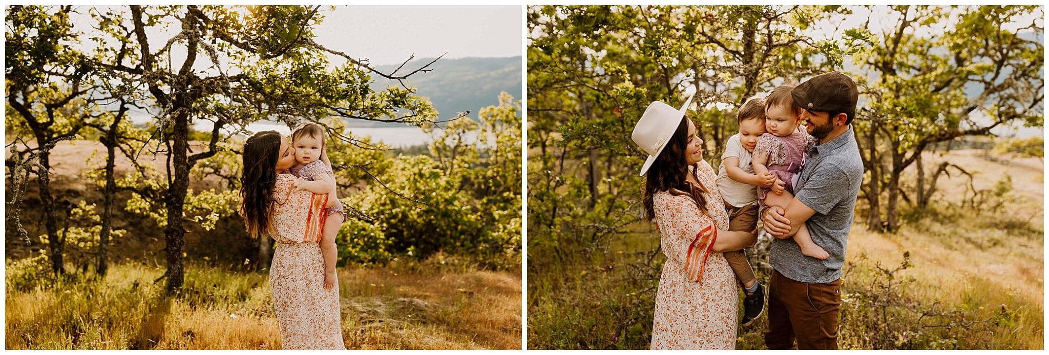 Portland Family Photographer - lifestyle family photos in the columbia river gorge